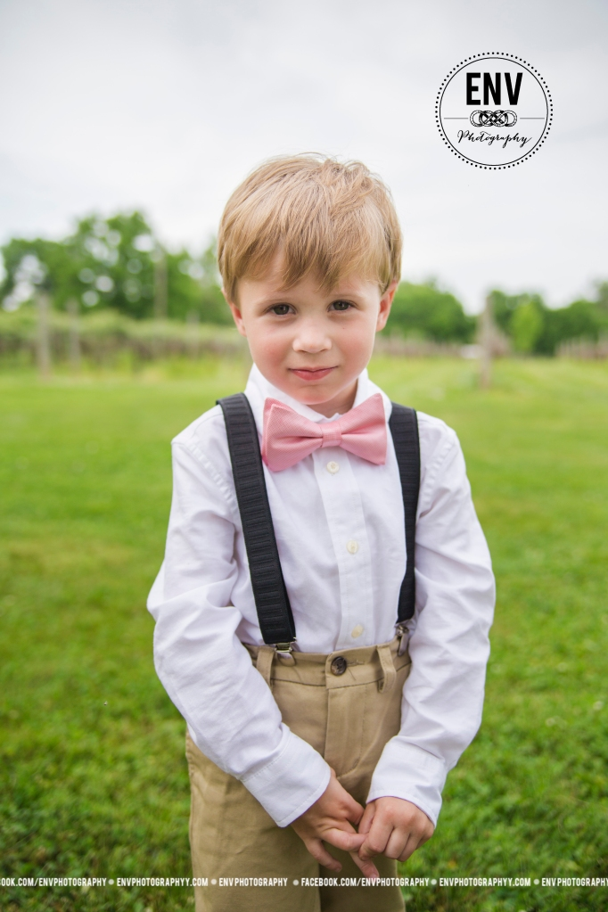 Cutest little ringbearer